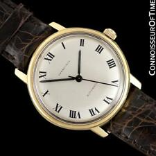 1970's Tiffany & Co. Vintage Mens 18K Gold Calatrava Watch - Minty with Warranty