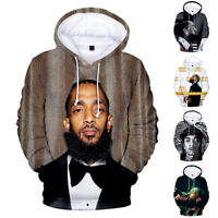 Nipsey Hussle Memorial Sweater Legendary Cotton Pullover Hoodie Print Hip Hop