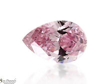 Diamond Natural Color Fancy Intense Pink 0.08ct Loose Pear Shape GIA certificate