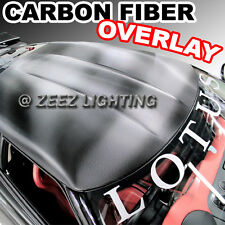 Carbon Fiber Moon Roof Hood Trunk Overlay Tint Vinyl Wrap Cover Film 50 x 60 C94