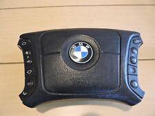 1999-01 BMW 525i 528i 530i 540i 740i DRIVER SIDE WHEEL AIR BAG BLACK