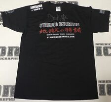 Frank Mir Signed Official Striking Unlimited Shirt BAS Beckett COA UFC Autograph