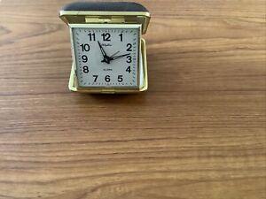 Rhythm Travel Alarm Clock (working)