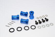 Traxxas 1/16 Mini E-Revo, Mini Slash, Mini Summit Alu Hex Adaptor (+15mm) - Blue