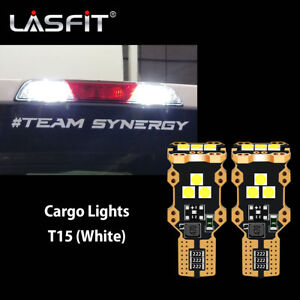 Lasfit 912 921 LED Cargo Area Light Bulbs for Chevy Silverado 1500 6000K Bright
