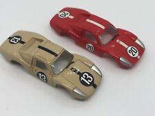 2 custom Aurora Tjet Porsche 904 bodies