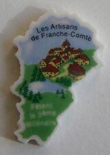 Fève perso 2001 - Puzzle La Franche Comté - Les Artisans de Franche Comté fêtent