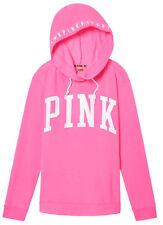 Victoria's Secret Pink Campus Crossover Tunic Hoodie Surfer Pink M NIP