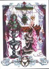 CHRISTMAS IN LONDON  MIRABILIA NORA CORBETT CROSS STITCH CHART MD136