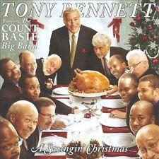 A Swingin' Christmas by Tony Bennett (CD, Oct-2008, Columbia (USA)) NEW