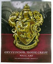 """Harry Potter™ The Noble Collection® Gryffindor™ House Crest 8""""X11"""" Wall Art Rare"""
