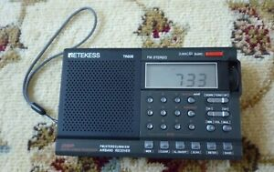 """TESTED  AM FM SHORTWAVE  AIR BAND  RADIO WITH BOX+MANUAL POWER:3x """"AA"""" BATTERY"""