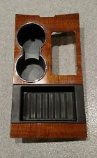 2007-2012 FORD EXPEDITION LIMITED WOODGRAIN CENTER CONSOLE CUP HOLDER *OEM*