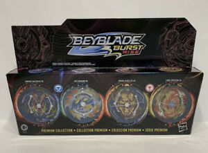 Beyblade Burst Rise Hypersphere Premium Collection 4-Pack FAST FREE SHIPPING!