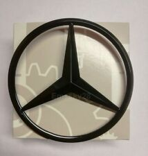 MERCEDES C CLASS S205 ESTATE T MODELL GLOSS BLACK REAR BADGE EMBLEM STAR 2014-21