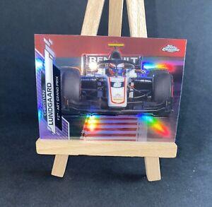Christian Lundgaard Rookie Car Purple 346/399 - Topps Chrome Formula 1