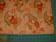 """great harvest, debbie mumm for SSI cotton quilt fabric  1 yd x 45"""""""