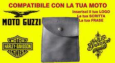 Portadocumenti porta libretto vera pelle Moto Guzzi scouter Harley davidson