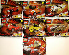 LEGO Shell V-Power Ferrari Polybags Set of 7 italia race car speed champions