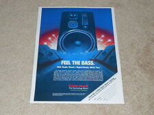 Realistic Mach Two Speaker Ad, 1984, Article, 1 pg