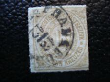 ALLEMAGNE (confederation de l allemgne du nord) timbre yt n°11 obl (A4) germany