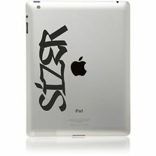 iPad Tablet Graffiti Name Sticker cool vinyl laptop guitar Decal