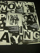 En Vogue Men At Large and Snow 1993 Promo Poster Ad