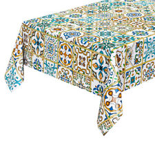 Tovaglia atimacchia maiolica copri tavolo cucina plastificata cerata più misure