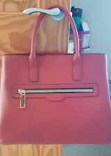 Large red bag, overnight, college, work, city tote on trend. Primark/Atmosphere