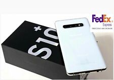 SAMSUNG GALAXY S10+ PLUS SM-G975U 128GB PRISM WHITE SPECTRUM FREE FEDEX 2 DAY