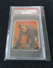1933 Goudey Sport Kings #7 Bobby Walthour PSA VG 3