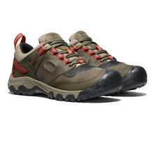 Keen Mens Ridge Flex Waterproof Walking Shoes Brown Sports Outdoors Breathable