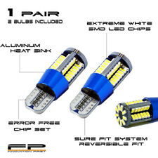 2x T15 921 Extreme Bright Error Free CANBUS LED Back up Reverse Light Bulb WHITE