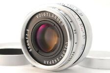 【Optics Clean】Voigtlander COLOR-SKOPAR 50mm f/2.5 Lens for Leica L39 (352-E425)