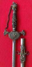 Antique FCB Knights of Pythias Fraternal Ceremonial Masonic Sword Saber
