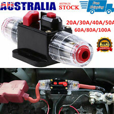 20A-100A AMP Circuit Breaker Car Marine Inline Replace Fuse DC 12V Stereo Audio