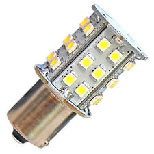 HQRP Bombilla LED de bayoneta BA15 30 LED SMD blanco cálido para #93, 1141, 1156
