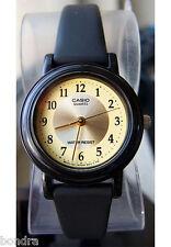 Casio Classic Ladies Gold Analog Watch LQ139A-9B3 NEW Free Shipping