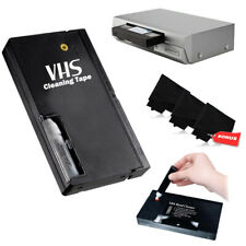 VHS Video Head Cleaning Kit Wet for panasonic +3 MICROFIBER