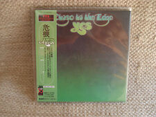 YES CLOSE TO THE EDGE MINI LP CD JAPANESE JAPAN JPN MINT AMCY-2732