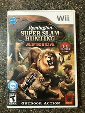 Brand New Sealed Remington Super Slam Hunting: Africa (Nintendo Wii, 2010)