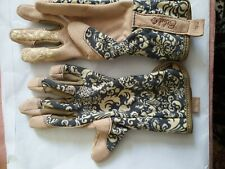 Childrens gardening gloves Quality syntheticSuede And Fabric Ethel Jubilee Glove