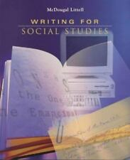 The Americans: Writing for Social Studies, MCDOUGAL LITTEL,0395869099, Book, Goo