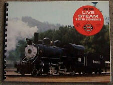 Railroad Supply Scale Locomotive Model Train Kit Hobby Supplies Book Catalog Rr