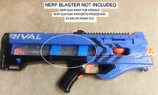 Custom Nerf Rival Zeus magazine Stop attachement guide mod accessory 3D Red Blue
