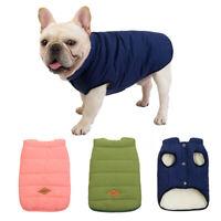 Winter Dog Clothes Warm Dog Coat Jacket French Bulldog Down Coat Puppy Clothes