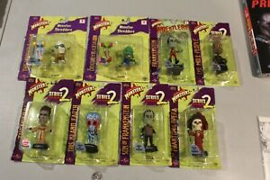 U PICK RARE 1999 2000 Universal Monsters Little Big Heads Frankenstein Creature