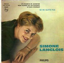 SIMONE LANGLOIS NE ME QUITTE PAS FRENCH ORIG EP FRANCOIS RAUBER