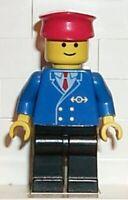 LEGO - MINIFIGURE - CLASSIC TOWN - TRAIN - Railway Employee NO. 1, TRN045