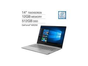 """Lenovo S540-14IWL 14"""" FHD Touch i7-8565U 12GB 512GB SSD NVIDIA MX250 FPR Bcklit"""